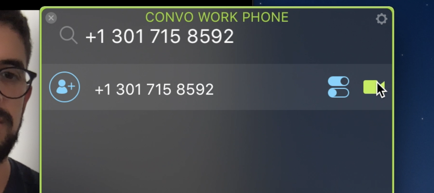 Use Audio dial-in number when you dial